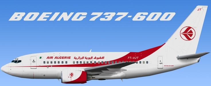 Air Algerie Boeing 737-600