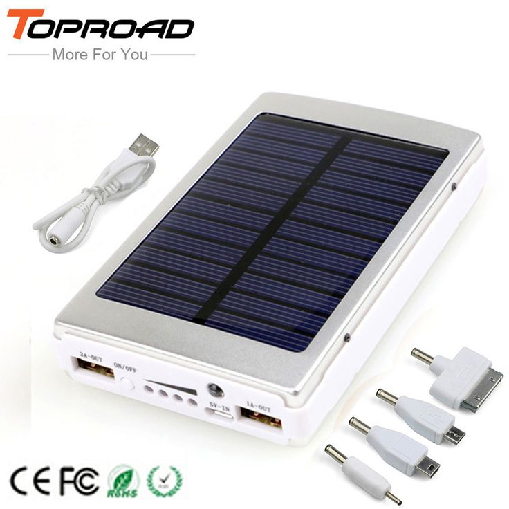Solar Charger Power Bank 12000MAH //Price: $24.95 & FREE Shipping //   #traveling #travellers #gadgets #travelgram #travelpic