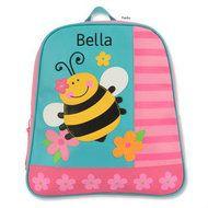 Monogrammed Kids Backpacks GoGo Bee - Kids Bags