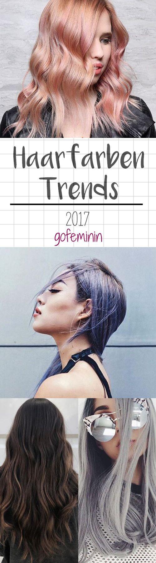 Pastell, Blond oder doch Rot? Wir verraten euch JETZT schon, welche Haarfarbe 2017 Trend sein wird!