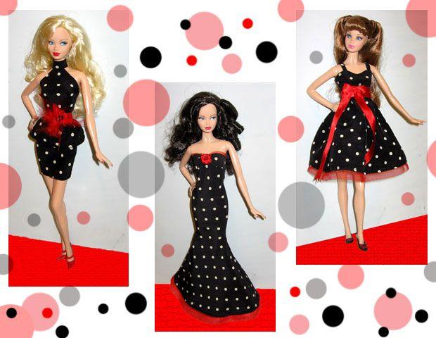 603 best Barbie doll clothes images on Pinterest   Barbie dress ...