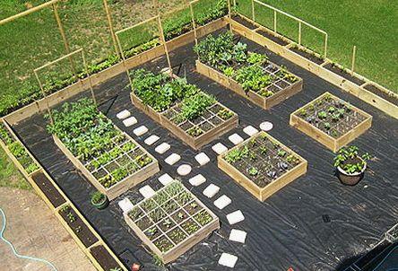 55 Great Garden Layout Ideas - Backyard Gardens