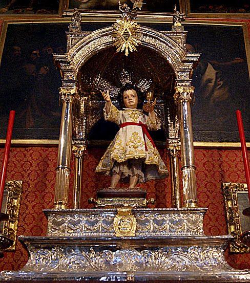 Niño Jesús, de Juan Martínez Montañés. Procesiona todos los años el día del Corpus Christi.