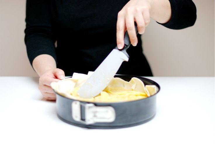 Tortilla española en hojaldre