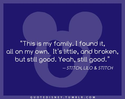 Quote Disney- live this quote daily. In this together :).