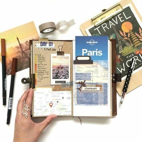 récit de voyage, France, Paris, carte postale
