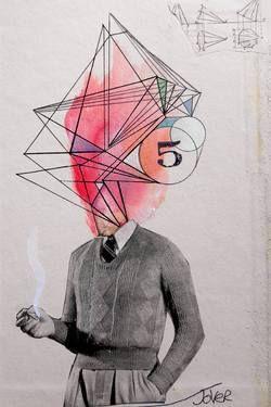 "Saatchi Art Artist Loui Jover; Drawing, ""architect"" #art"