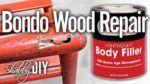 Repair Wood Furniture Using Bondo Filler