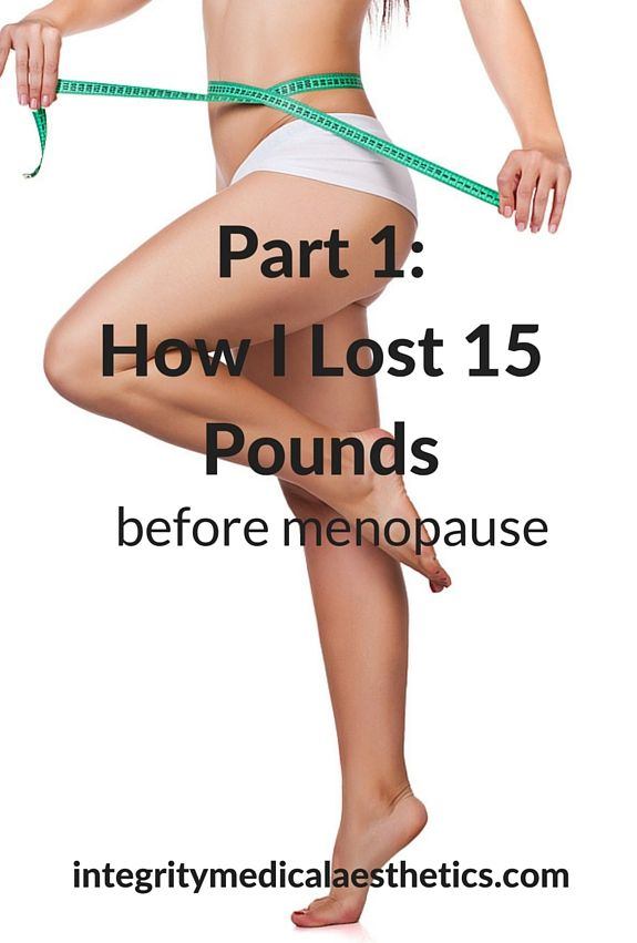 how to lose weight for menopause