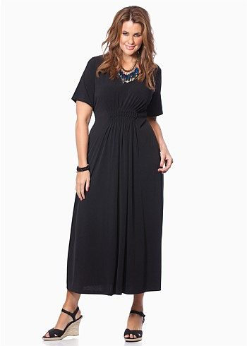 #Virtu Grace Maxi Dress #plussize #curvy