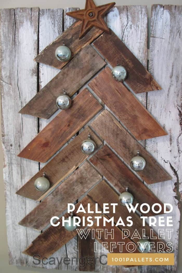 Pallet Wood Christmas Tree With Pallet Leftovers 1001 Pallets Pallet Wood Christmas Tree Pallet Wood Christmas Wood Christmas Tree