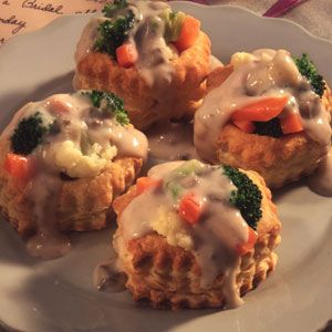 Creamy Vegetables in Pastry Shells: Recipes Main Dishes, Fruit Veggie Recipes, Side Dishes, Shells Allrecipes Com, Puff Pastries, Creamy Vegetables