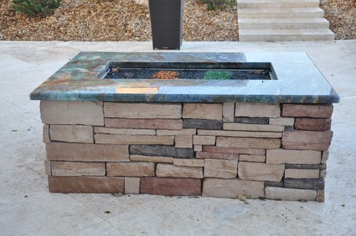 Firemagic Built In Bbq And Gas Fire Pit Custom Built With Blue 88 Best Outdoor Ideas Images On Pinterest | Decks, Garden