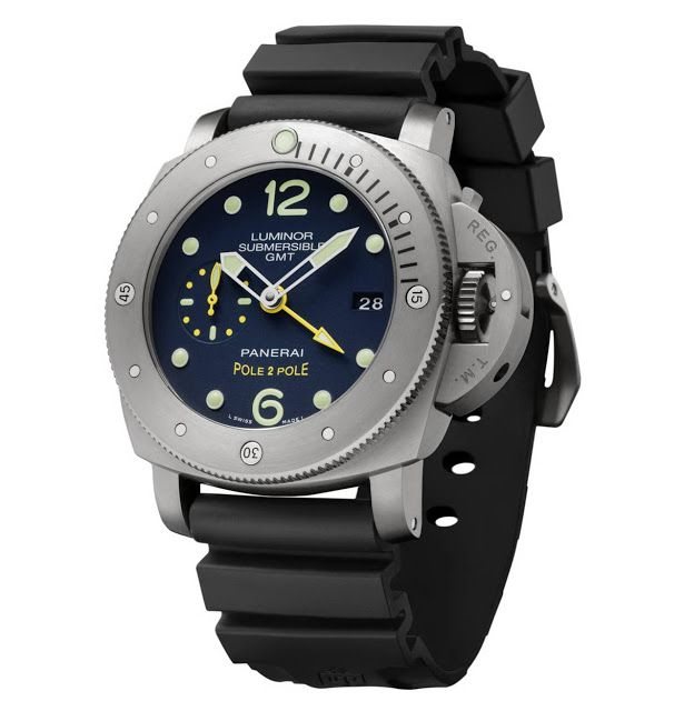 Officine Panerai Luminor Submersible 1950 3 Days GMT Pole2Pole PAM719 | Time and Watches