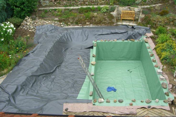 m s de 25 ideas incre bles sobre schwimmteich selber bauen. Black Bedroom Furniture Sets. Home Design Ideas