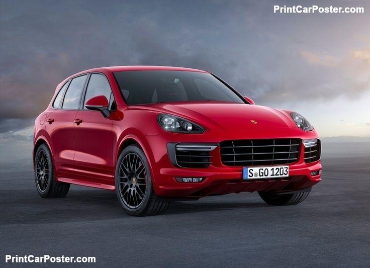 Porsche Cayenne GTS 2015 poster, #poster, #mousepad, #tshirt, #printcarposter