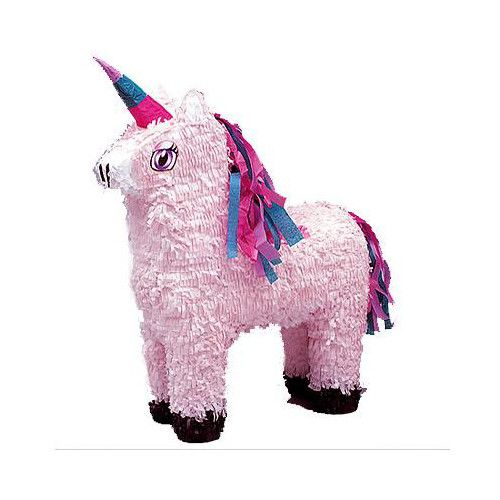 Unicorn piñata - includes blindfold and buster. Hen party accessories by The Peacock Bride