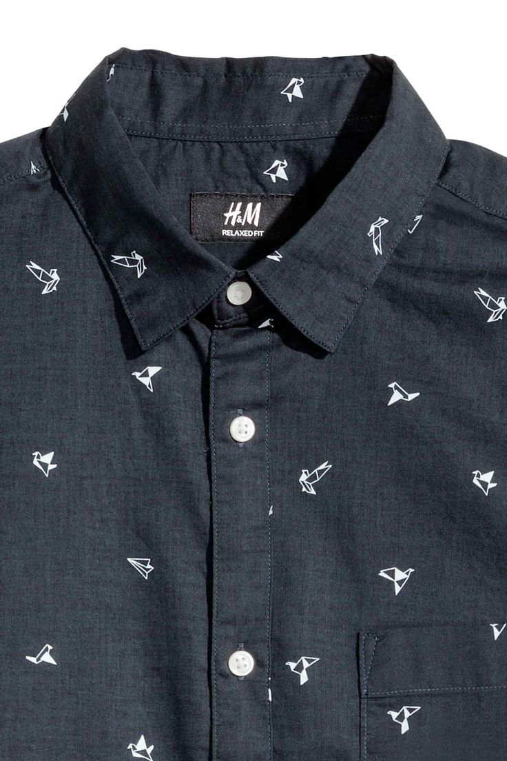 Cotton shirt Relaxed fit | H&M
