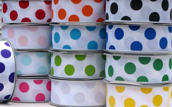 Grosgrain Ribbons, Stitch Grosgrain Ribbons, Polka Dot Grosgrain Ribbons