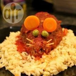 Photo recette : Boulettes de viande spéciales Halloween