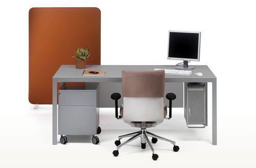 Scrivania in alluminio / moderna / per uso professionale / con scaffale integrato PEY by JM Massana - JM Tremoleda & Eduard Juanola Mobles 114 editions