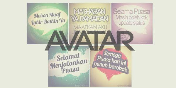 Kumpulan ucapan Ramadan dalam bentuk Image Profil avatar
