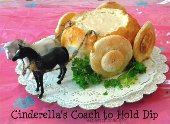"Disney Princess Birthday or Tea Party: ""The Royal Coach"" Dip Boule"