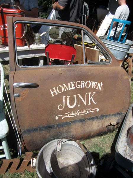"""Shannon from HomeGrown Junk will be bringing her cuffs, fresh farm finds and lots of great """"junk"""""""