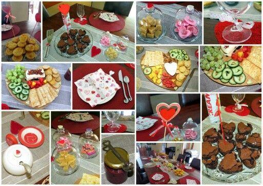 Heart themed tea