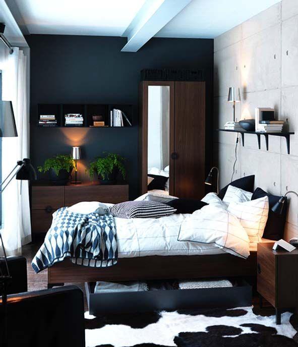 Best 25 Men Bedroom Ideas On Pinterest  Man's Bedroom Men's Entrancing Interior Design Small Bedroom Ideas Design Inspiration