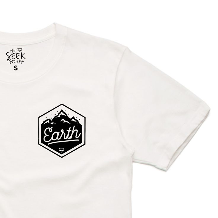 The Seek Society - Natural Organic Cotton Earth TShirt