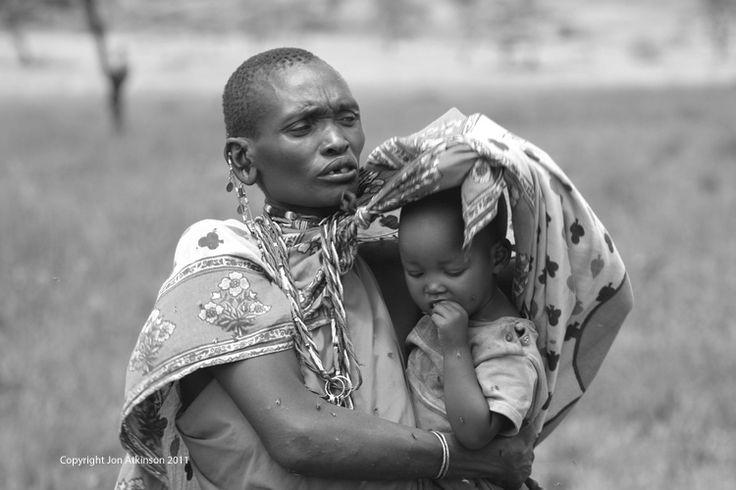 Women and Child, Kenya.