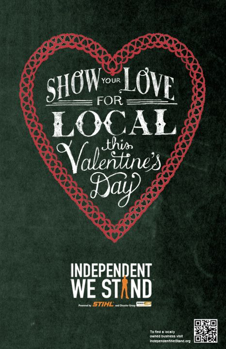 Show the Love! Shop Local