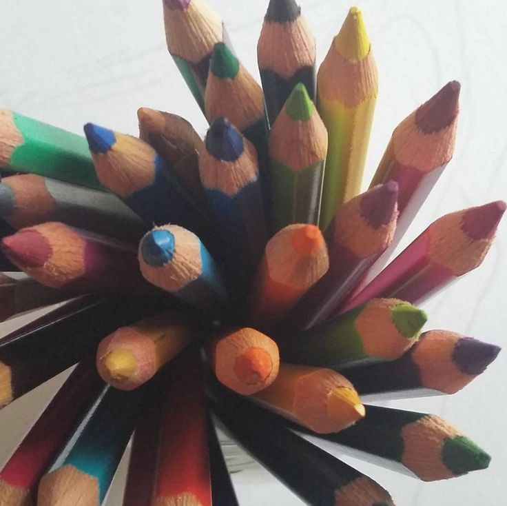 Image credit: adry_gates   #tigerstores #art #crafts #pencils