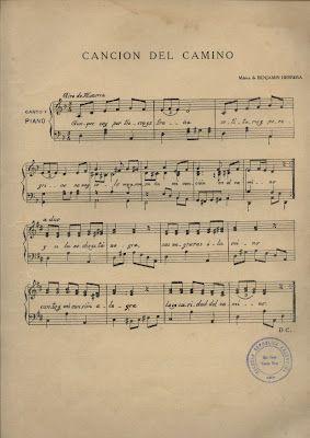 Cancion del camino partitura musica tradicional Costa Rica | FORCOS