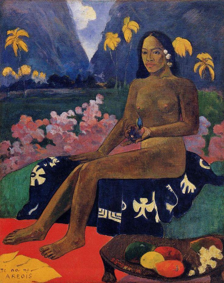 Paul Gauguin, LO SGUARDO DELL'AREOI, 1892, Colore ad olio, 92 cm x 72 cm, MoMA