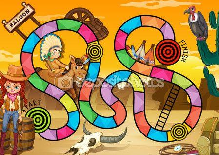 Zachodnie gry — Ilustracja stockowa #58547285