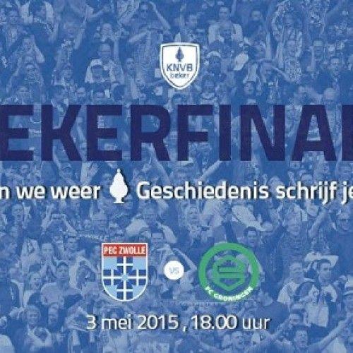 Final Piala KNVB : PEC Zwolle vs Groningen