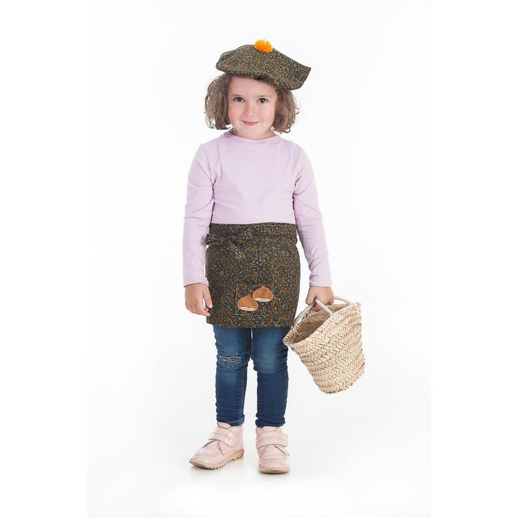 Disfraz Castañera Bebe( 0 a 12 meses )