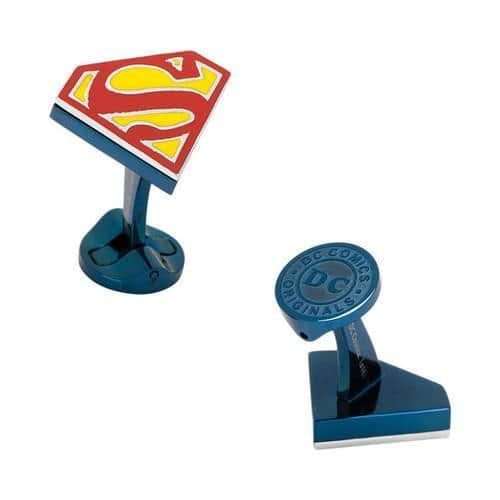 Men's Cufflinks Inc Superman Shield Cufflinks Multi