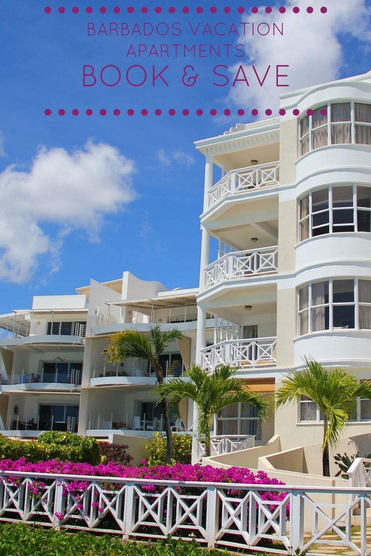 Barbados apartments offer affordable accommodation and provide the comfort of a hotel room combined with the convenience of your own cooking facilities.
