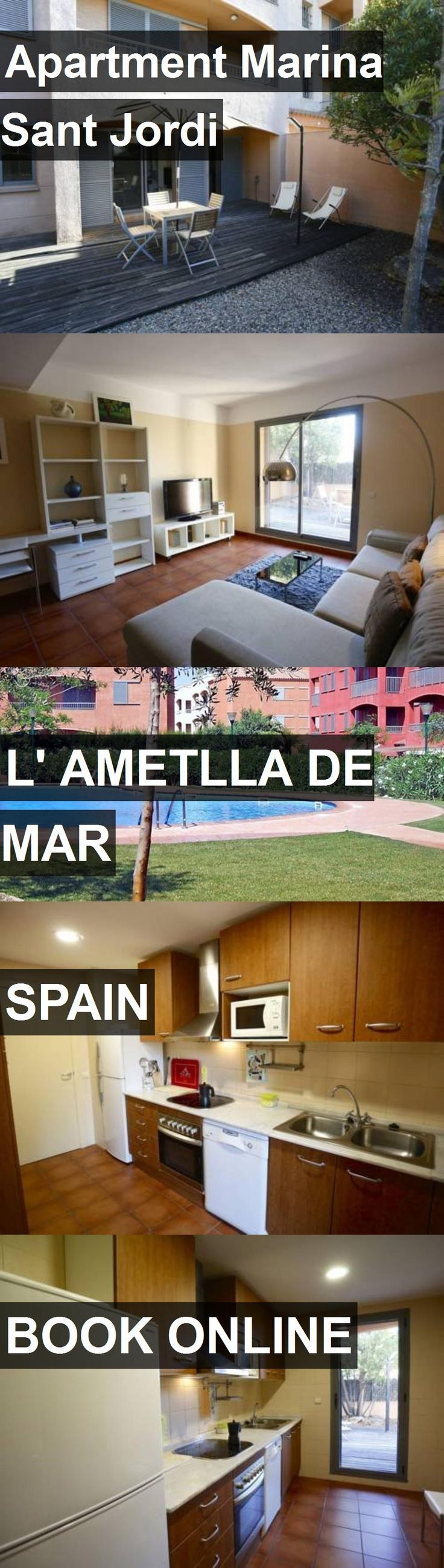Apartment Marina Sant Jordi in l' Ametlla de Mar, Spain. For more information, photos, reviews and best prices please follow the link. #Spain #l'AmetlladeMar #travel #vacation #apartment