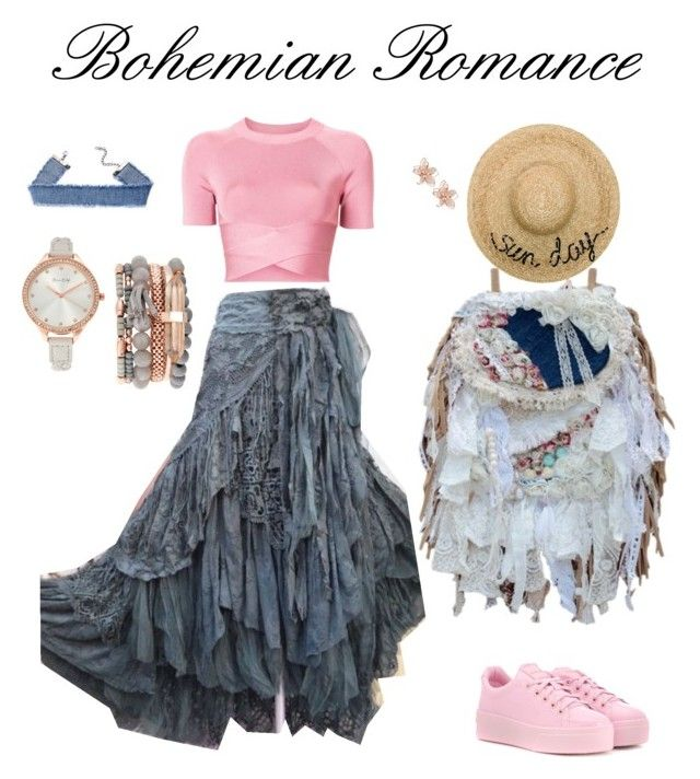 """Boho in town"" by alenka-lishakova on Polyvore featuring T By Alexander Wang, Kenzo, Eugenia Kim, NAKAMOL and Jessica Carlyle"