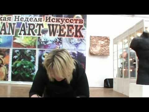 Мастер-класс Пуконцева Наталья Декупаж 8.mp4 - YouTube