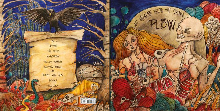 Vinyl/CD Cover Design for PlÖW - Lise Bye Kjeldsen