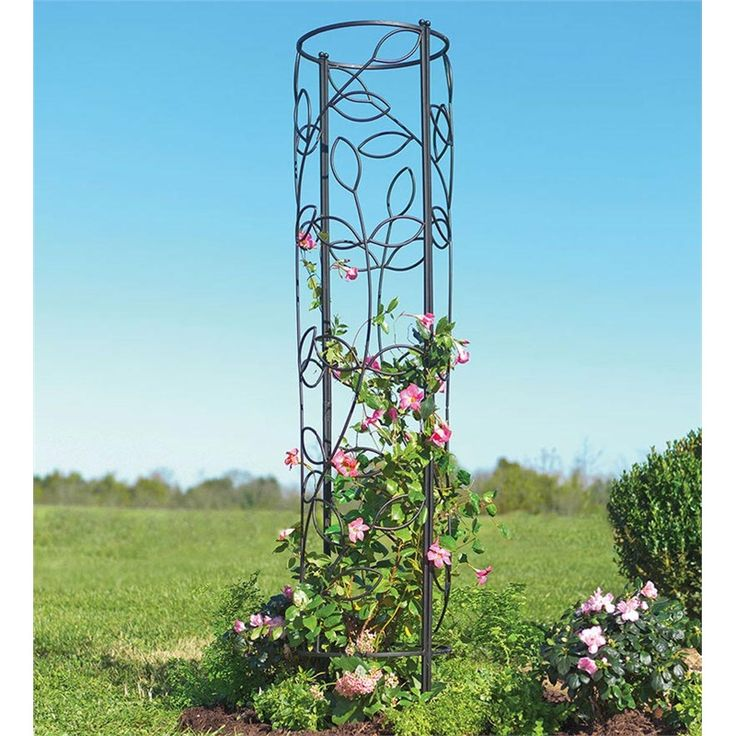 17 best images about garden path ideas on pinterest for Garden obelisk designs