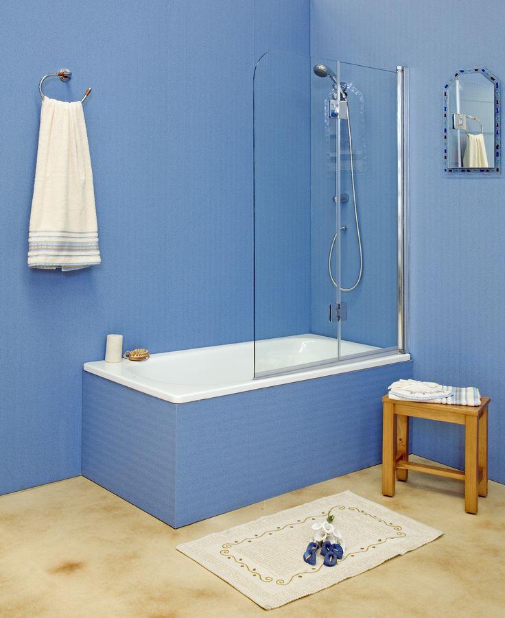 Las 25 mejores ideas sobre puertas de ducha en pinterest y - Mamparas de cristal para ducha ...