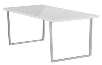 Stół STEGE 90x160cm biały wys.połysk