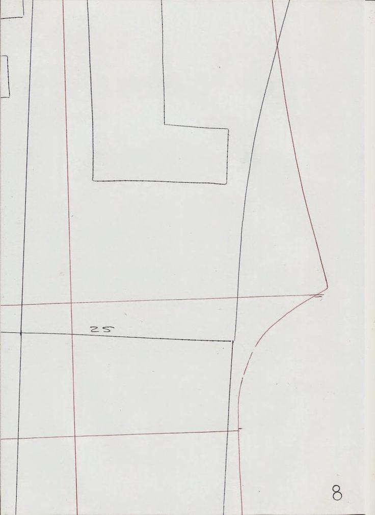Molde base de macacão tamanho 38. Para imprimir deve guardar as imagens e em seguida imprimir no tamanho A4, obtém o molde tal e qual desenhei. Em seguida