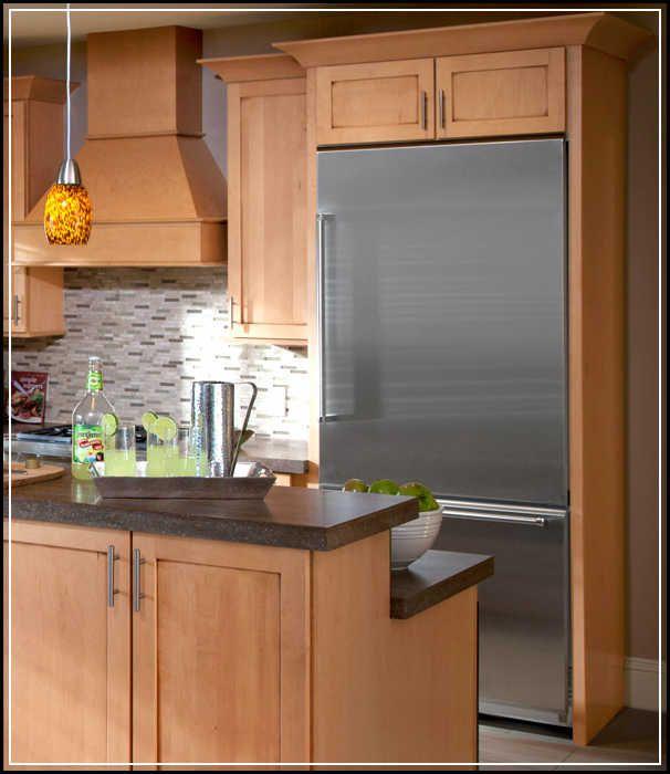 Kitchen Cabinets Around Fridge: Best 25+ Cabinet Depth Refrigerator Ideas On Pinterest